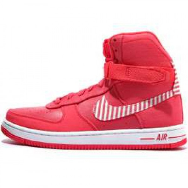 Nike WMNS Air Feather High HOT PUNCH/WHITE ナイ�...