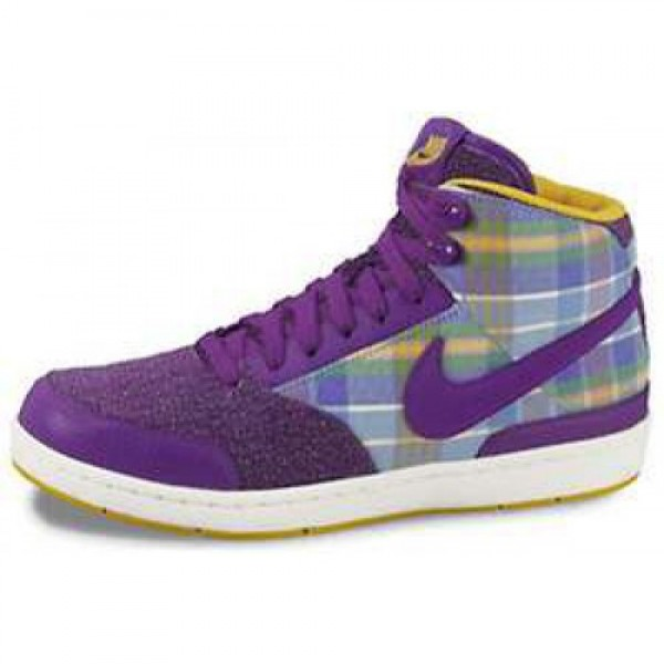 Wmns Nike Style Mid CLUB PURPLE/UNIVERSITY GOLD-SL...