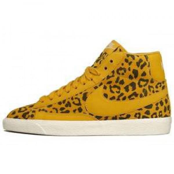 Nike Wmns Blazer Mid Print Gold Leopard ナイキ ...