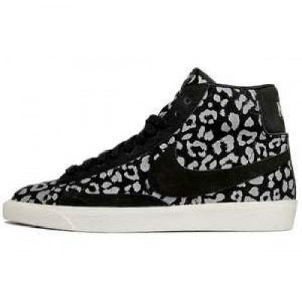 Nike Wmns Blazer Mid Print Black Leopard ナイキ...