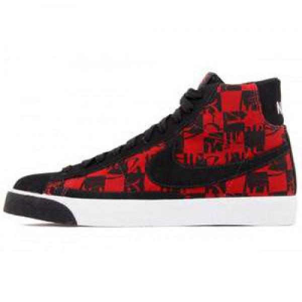 "Nike Blazer High Premium TZ ""Boneyards"" VARSITY RED/BLACK-WHITE ナイキ ブレイザー ハイ プレミアム ティアゼロ ""ボーンヤーズ"" バーシティレッド/ブラック ホワイト 332286-601"