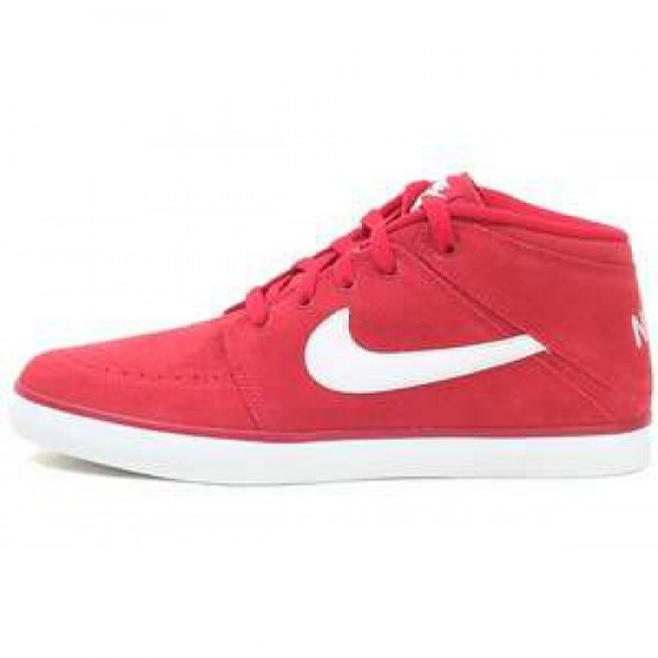 Nike Suketo Mid Leather GYM RED/SUMMIT WHITE-SMMT ...