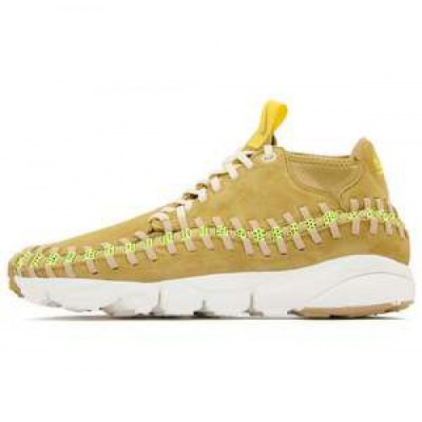 Nike Air Footscape Woven Chukka Knit FLT GOLD/BEAC...