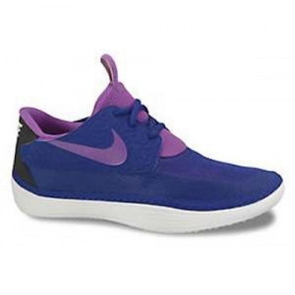 Nike Solarsoft Moccasin HYPER BLUE/LSR PRPL-NGHT S...