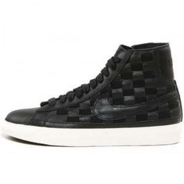 Nike Wmns Blazer Mid Woven BLACK/BLACK-SAIL ナイ...