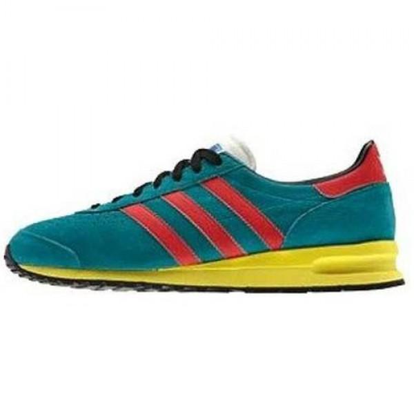 adidas マラソン 85 ターコイズ/レッド a...