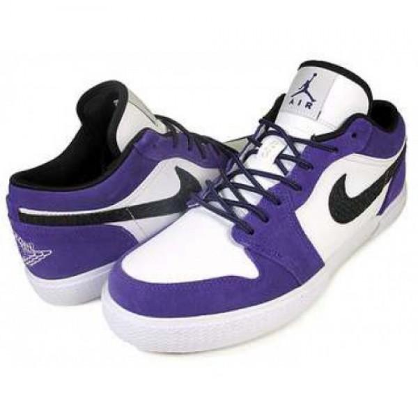 NIKE JORDAN RETRO V.1 c.purple/blk-wht 481177-503