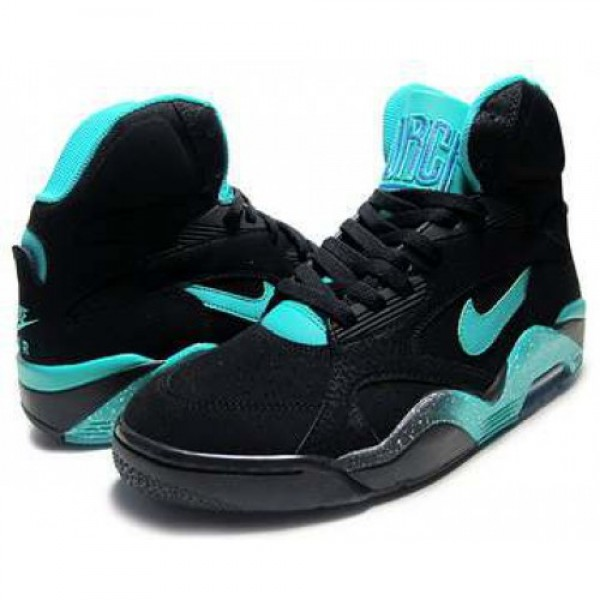NIKE AIR FORCE 180 MID blk/a.teal-v.force 537330-0...