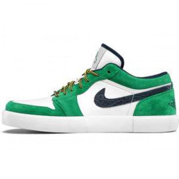 Nike Jordan Retro V.1 COURT GREEN/MIDNIGHT NAVY-WH...