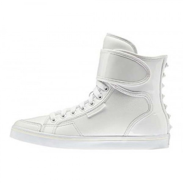 アディダス adidas Honey Hi Strap EF W WHITE/W...