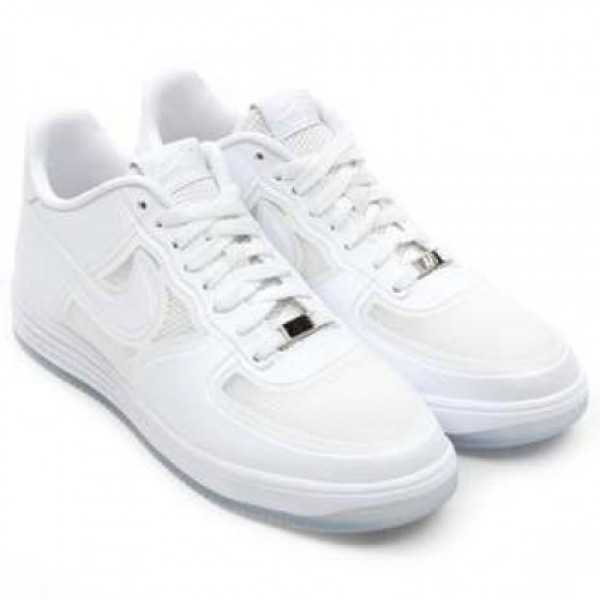 "NIKE LUNAR FORCE 1 FUSE QS ""WHITE ICE"" (..."