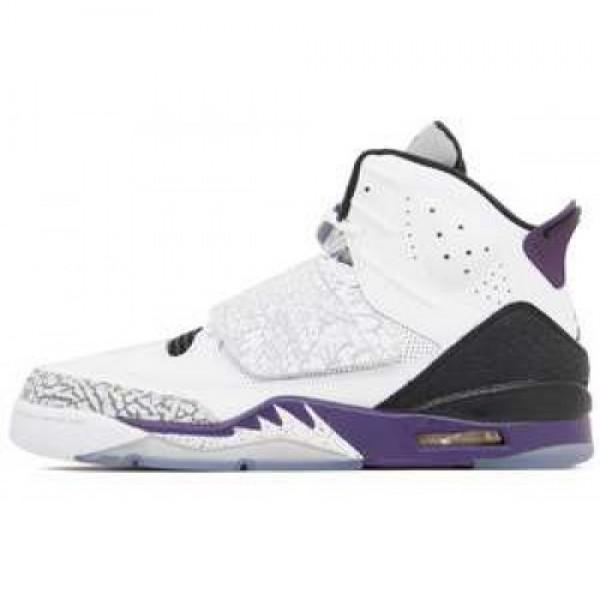 Nike Jordan Son of Mars WHITE/CLUB PURPLE-CL GREY-...