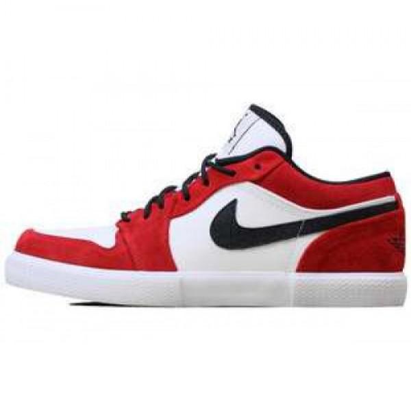 Nike Air Jordan Retro V.1 WHITE/BLACK-GYM RED ナ�...