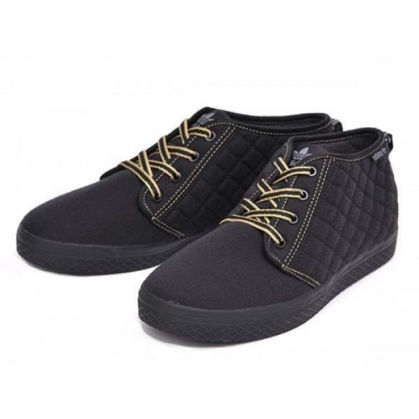 adidas HONEY DESERT QLT Black/Metallic Gold アデ...