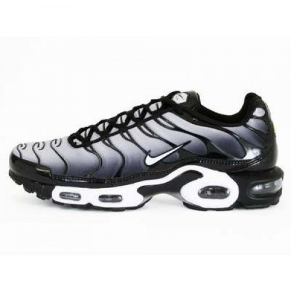 NIKE AIR MAX PLUS (604133-076) WOLF GREY/WHITE-BLA...