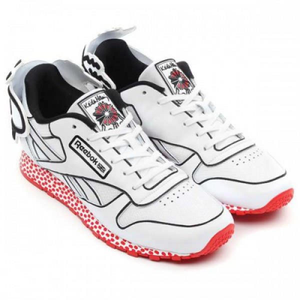 Reebok × Keith Haring CL LTHR LUX KH (リーボ�...