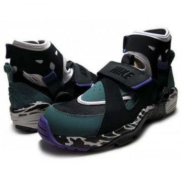 NIKE AIR CARNIVORE l.zen gry/blk-o.grn 390077-001 ...