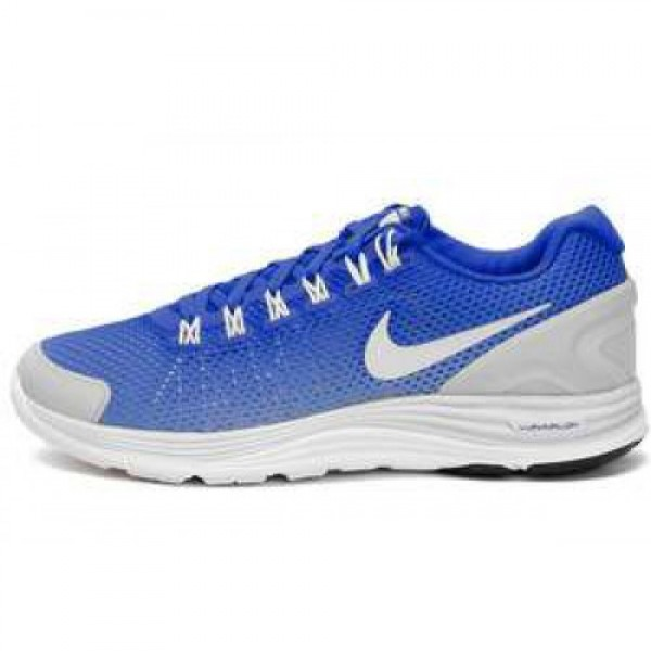 Nike Lunarglide+ 4 Breathe HYPER BLUE/WHITE-PURE P...