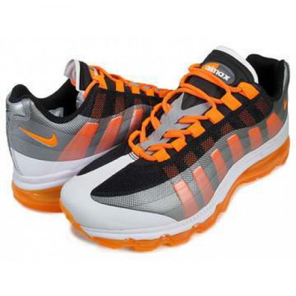 NIKE AIR MAX 95+ BB blk/t.org-d.gry-w.gry 511307-0...