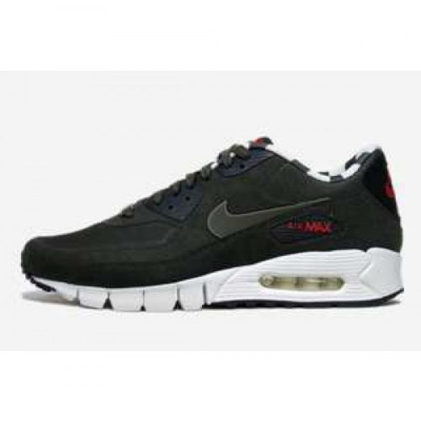 AIR MAX 90 PARIS QS DEEP SMOKE/DP SMK-DSTNC RED-BLK 587581-226