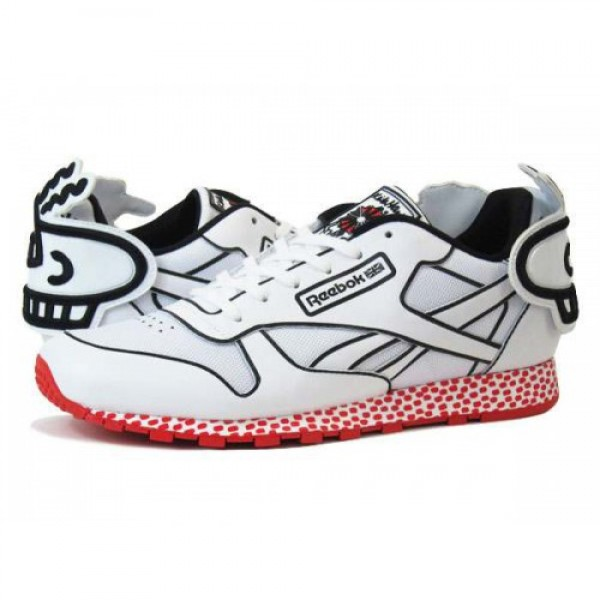 Reebok CLASSIC LEATHER LUX KH 【Keith Haring】 �...