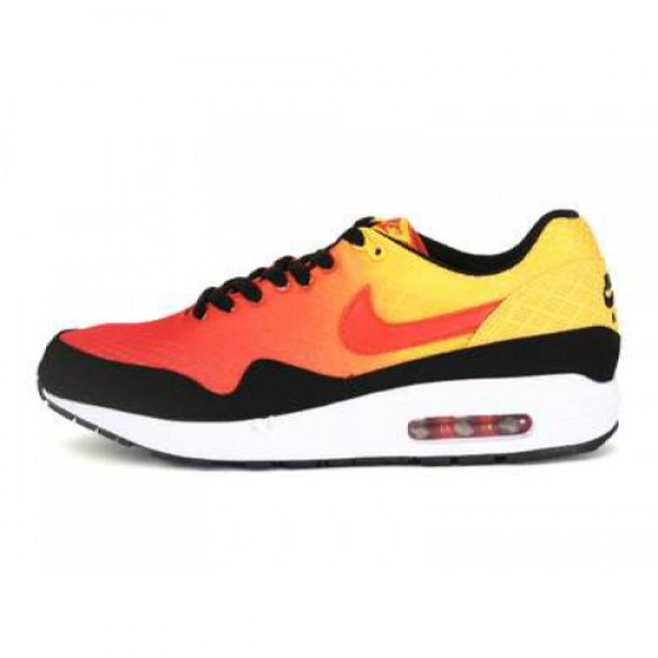 NIKE 13K05 AIR MAX 1 EM TM ORANGE/TM ORNG-TR YLLW-BLK 554718-880  100%正規品保証卸売価格