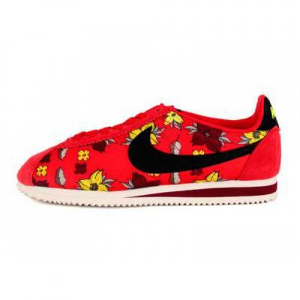 NIKE 13K05 CLASSIC CORTEZ NYLON QS UNIVERSITY RED/...