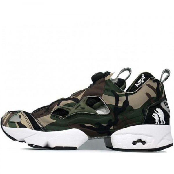 AAPE BY A BATHING APE x REEBOK PUMP FURY MOON FACE...