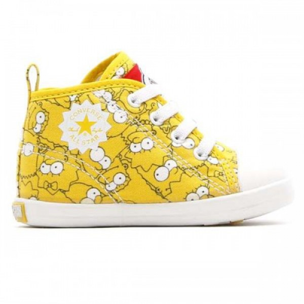 CONVERSE BABY ALL STAR THE SIMPSONS RZ (コンバ�...