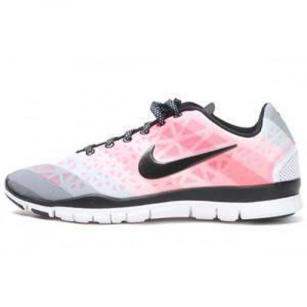 Nike Wmns Free TR Fit 3 PRT WHITE/BLK-PLRZD PNK-PL...