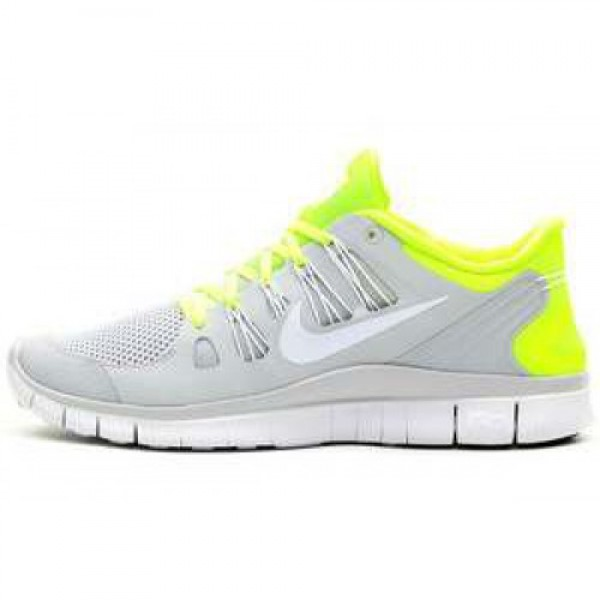 Nike Free 5.0+ Breathe VOLT/WHITE-PURE PLATINUM �...