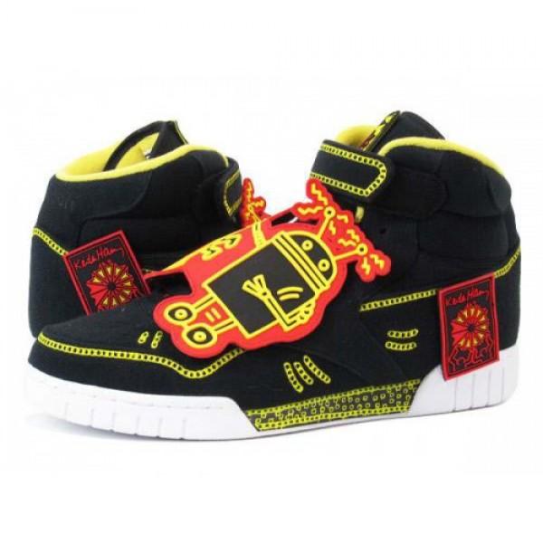 Reebok EXOFIT PLUS HI R13 KH 【Keith Haring】 �...